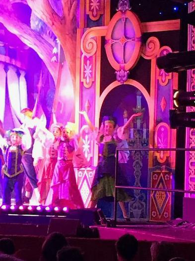 Centre stage at the Mayflower!