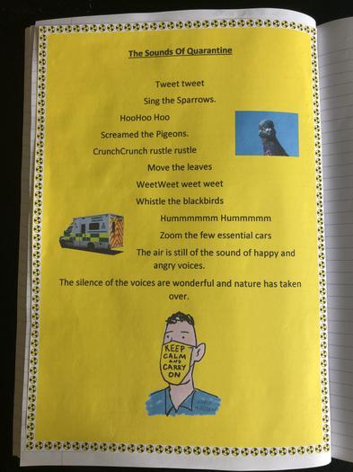 Tarak's quarantine poem