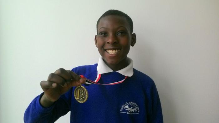 Christopher (5SB) Tennis Winner! (AGAIN!)