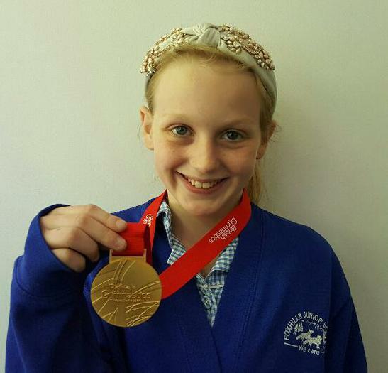 Eleckra-British Gymnastic GOLD MEDAL! (Acrobatics)