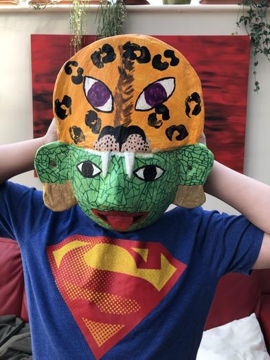 Tarak's Maya mask
