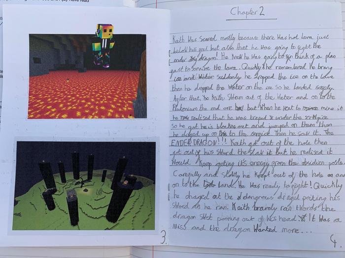 Harry's minecraft story