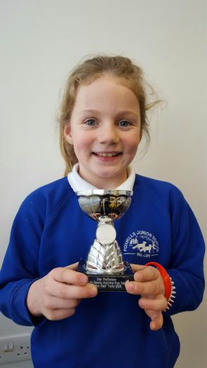 Flossie - holiday club award!
