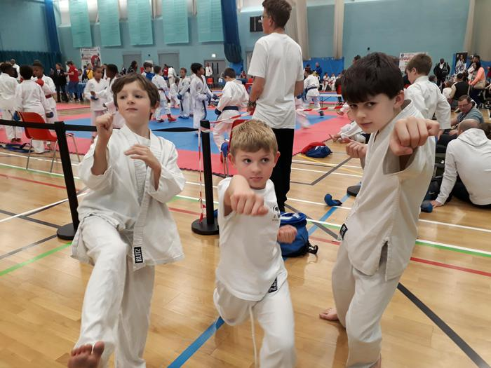 Karate Competition - the karate kids!