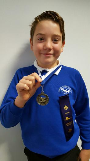 Fin - Club Swimming Championships... 1st and 6th!