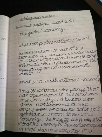Owen's research on multinational companies