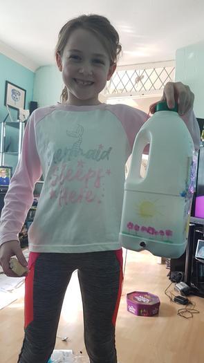 Chloe's bird feeder