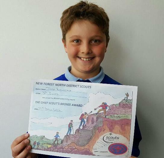 Jack: Beavers Award!