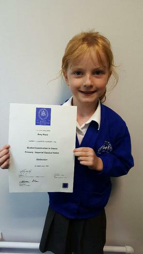 Amy(3NH) Distinction in Imperial Classical Ballet!