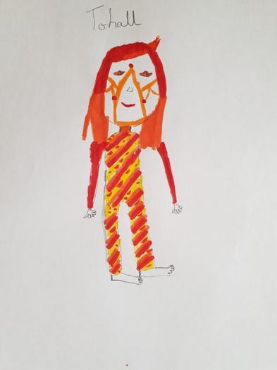 Kim's Maya goddess.