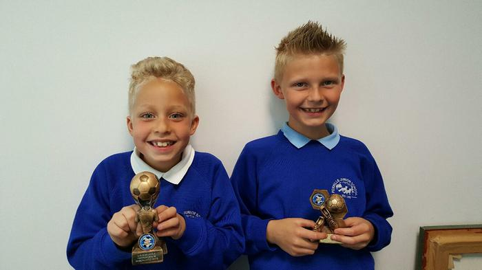 Casey and Cobe Champions League player awards