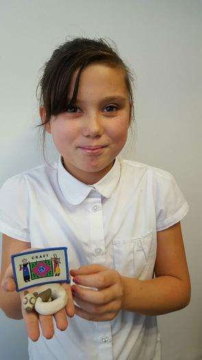 Maddie - Guides Craft badge award!