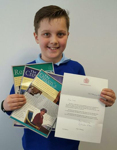 Jack: Letter from the Queen!