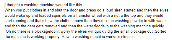 How a washing machine works by Ollie