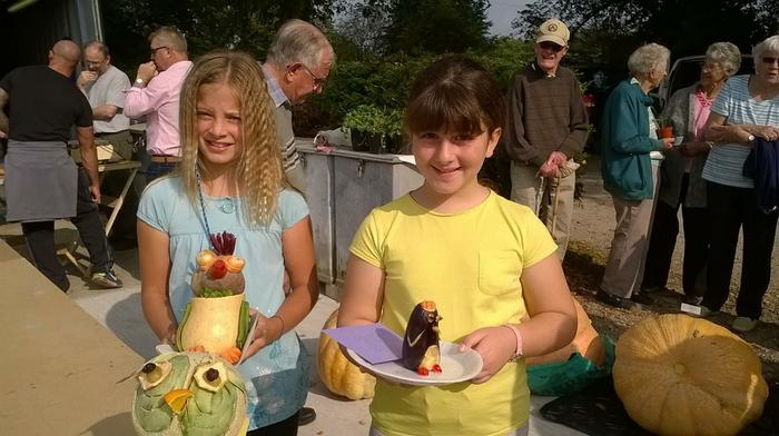 Fay and Chloe: Gardening Competition Winners!