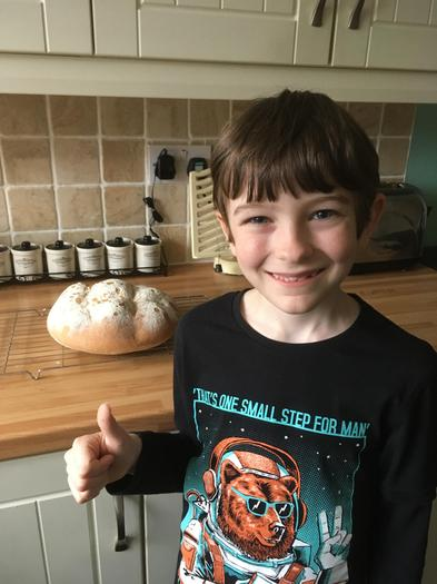 James baked some delicious bread