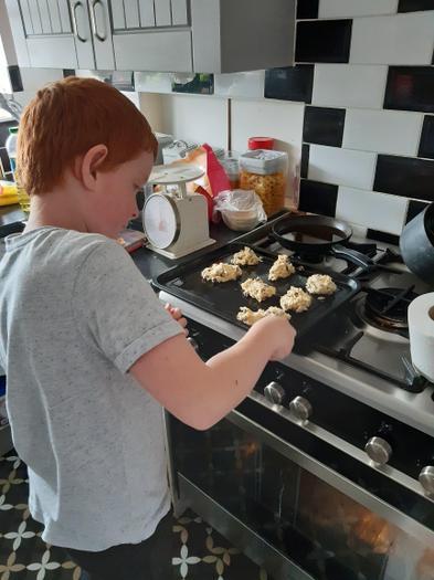 Charlie (3EU) baking