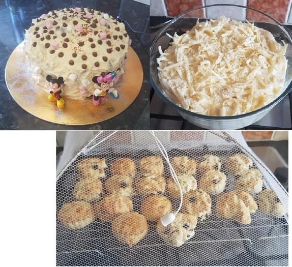 Jacob's baking/cooking creations - yum!