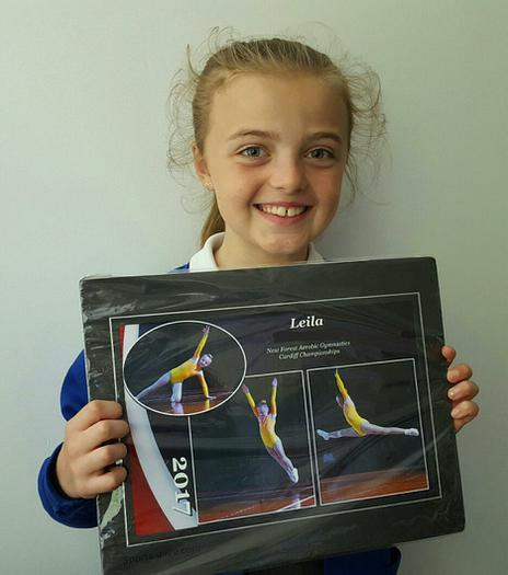 Leila: Cardiff Gymnastics Competition winner!