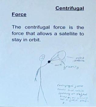 Zack's explanation of centrifugal force