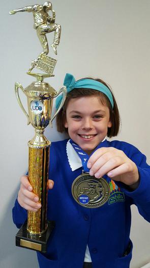 Jessica - Street Dance competition winner - 2nd!