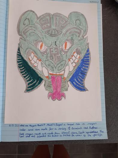 Josh's Maya mask design