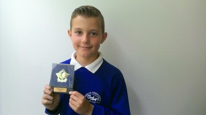 Ethan (4MG) Sarisbury Sparks U9 Football champ!