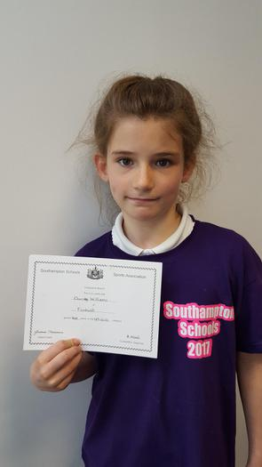 Darcy - Southampton Trampoline Competition 4th!