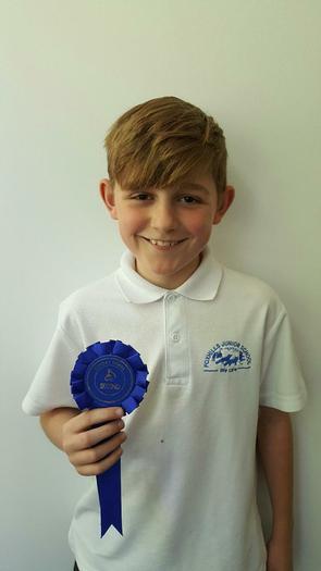 Josh - Donkey Derby winner - 2nd!