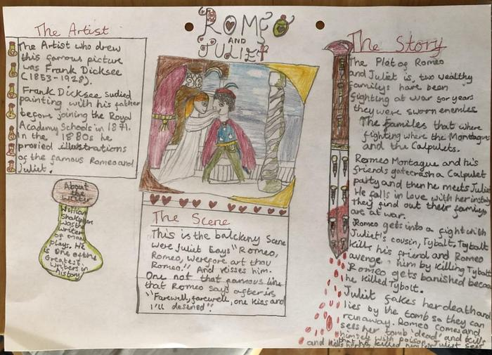 Xenia's Romeo and Juliet page
