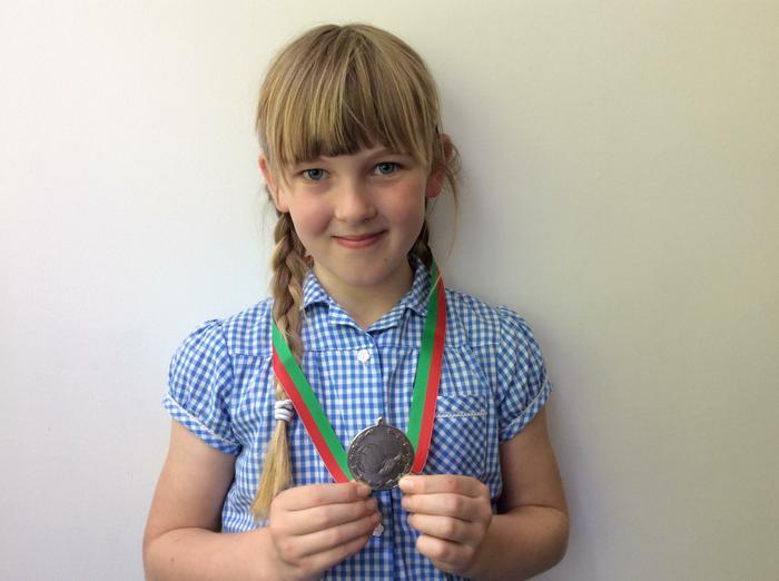 Katie - Intercup Final... runner up!
