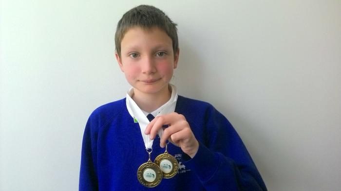Zak (6SM) Southern Region Gymnastic winner (x2!)