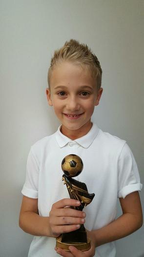 ASHTON - Totton FC top footballer award!