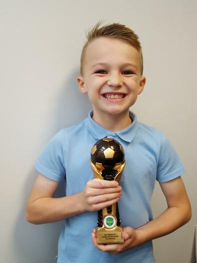 Football: U7 Goalkeeper of the Season!