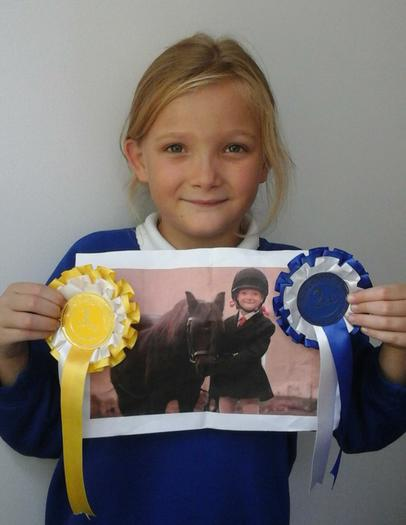 Helena - Equestrian Awards -2nd and 3rd!