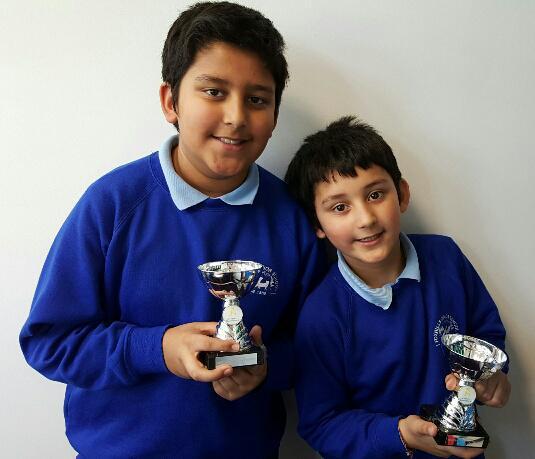"Ajay and Arjun - ""Star Performer"" winners!"