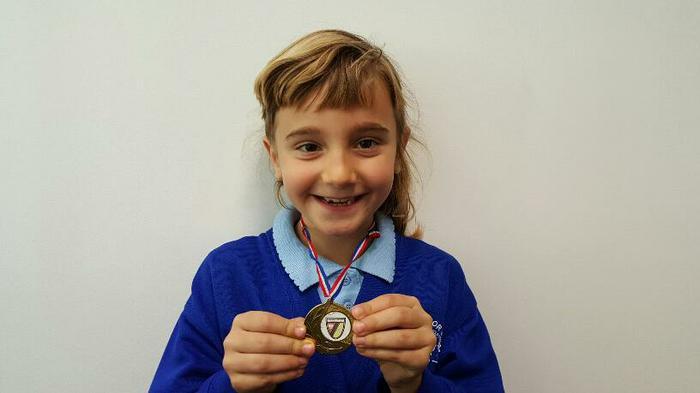 Anya (3AT) Townshills Football club champ!