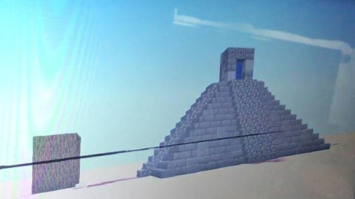Raffy created a Maya Temple in Minecraft!