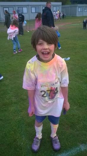 George (3NH) - Oakhaven colour run 5km!