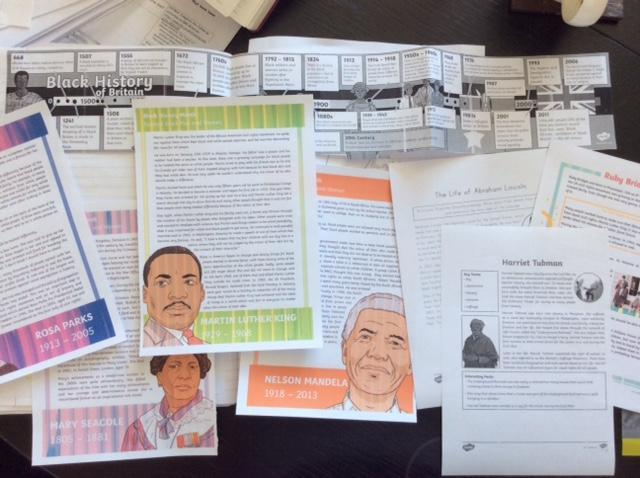 Lizzie's civil rights & slavery history learning 3
