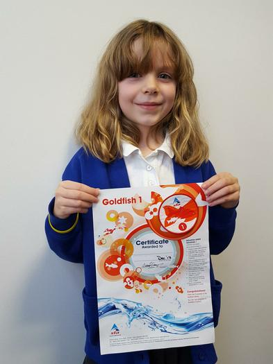 Goldfish 1 award!