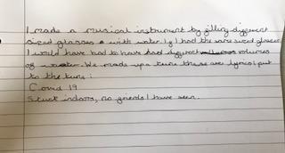 George's musical description