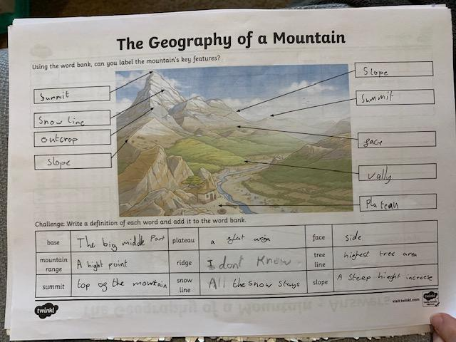 Lincoln's mountain learning