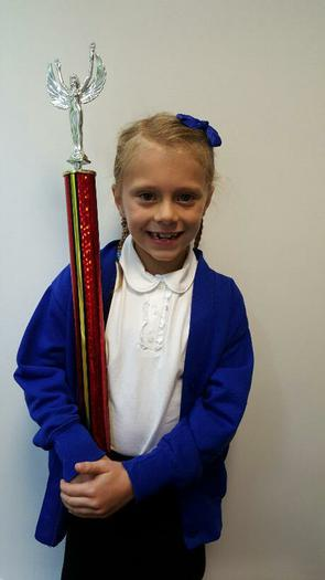 Honey (3BE) 1st in her Dance competition!
