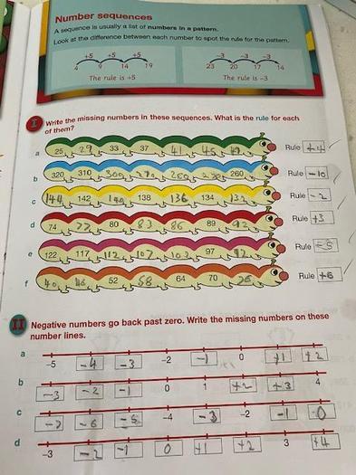 Ben's maths
