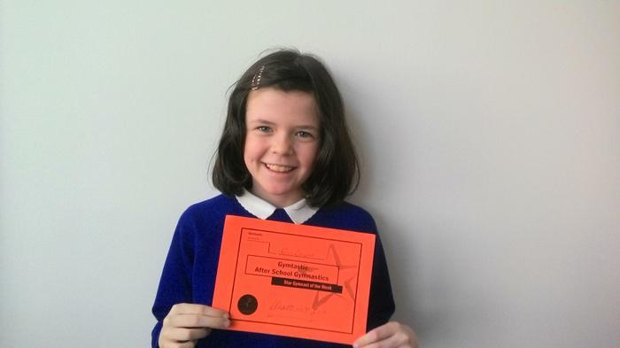 Erin (4HS) - British Gymnastics Award - L4!