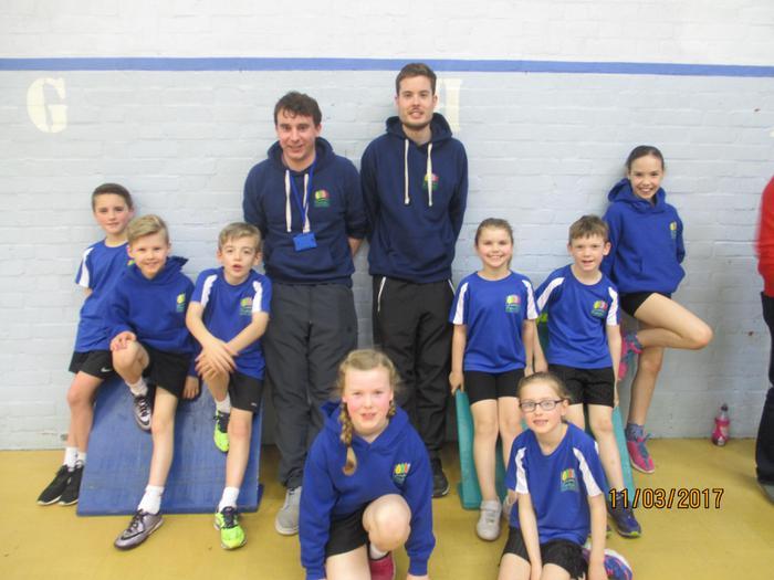 Our amazing Athletics Team (lower school)