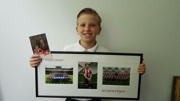 Tristan-Southampton Youth Academy Player award!