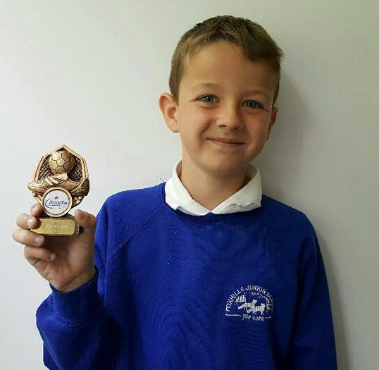 Benjamin - 2nd in the Cubs 6-aside tournament!