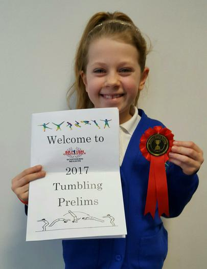 Maddie: Tumbling competition... 4th!